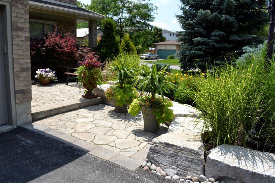 maintain landscaping