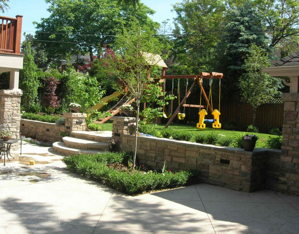 landscaping design build