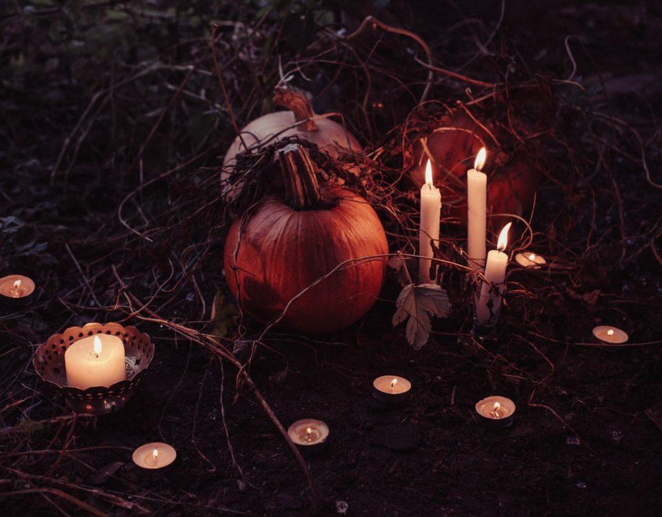 halloween landscaping